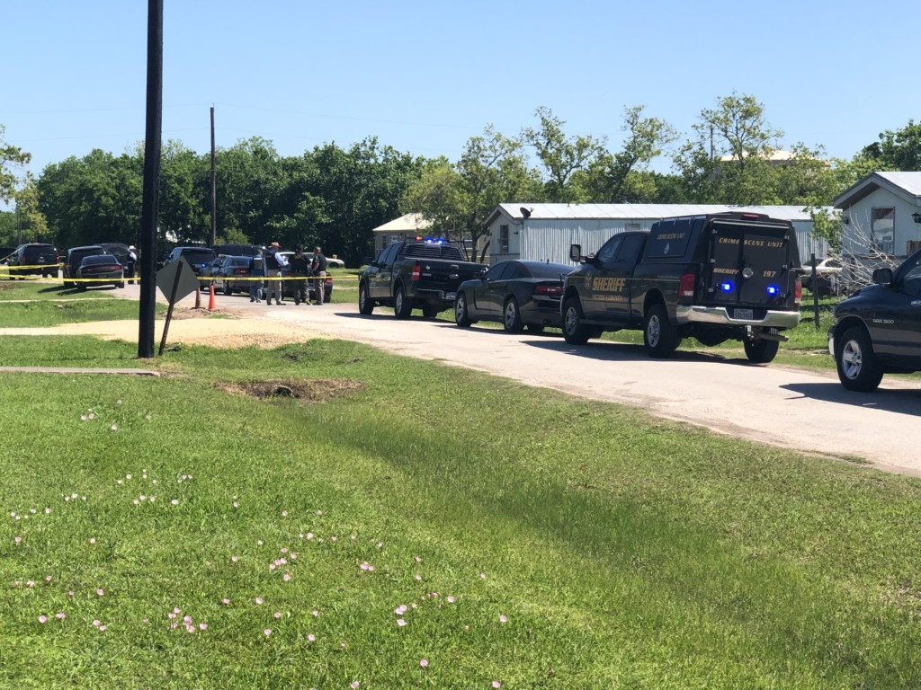 Victoria County Sheriff's Office conducts search warrant in relation to Bloomington shooting