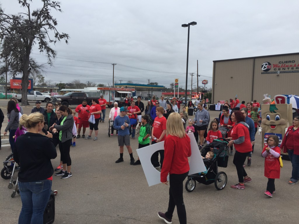 Cuero Heart and Sole Walk taking place Saturday, Feb. 16th