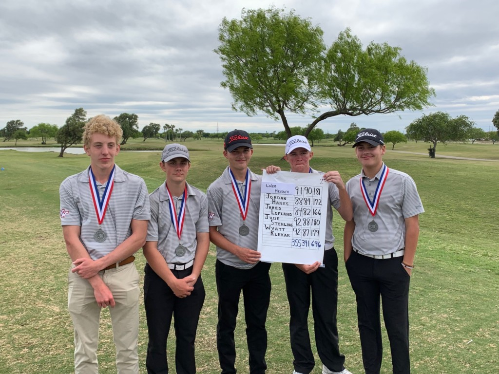 Three VISD Golf Teams Finish In District Top Three