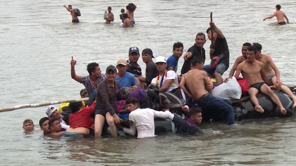 Baby found dead after migrant raft overturns in Rio Grande
