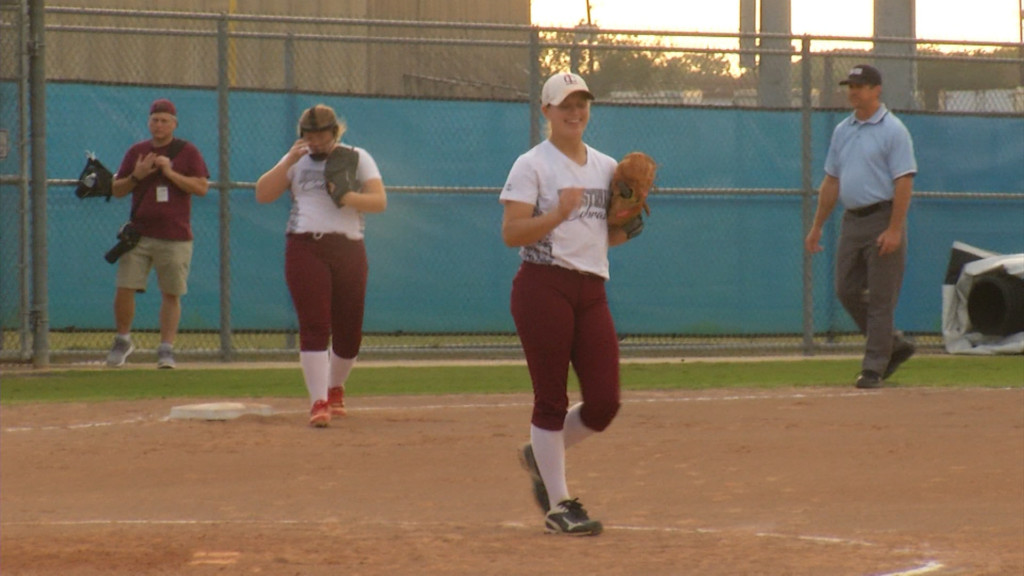 Rain Stops Local H.S. Softball All-Star Game