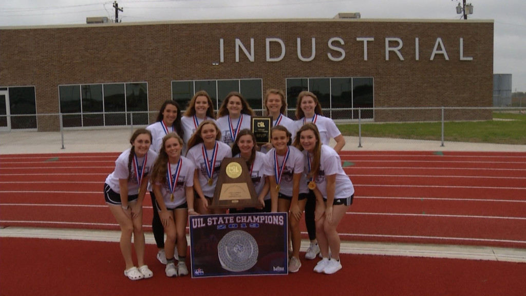 Industrial Volleyball Celebrates State Title