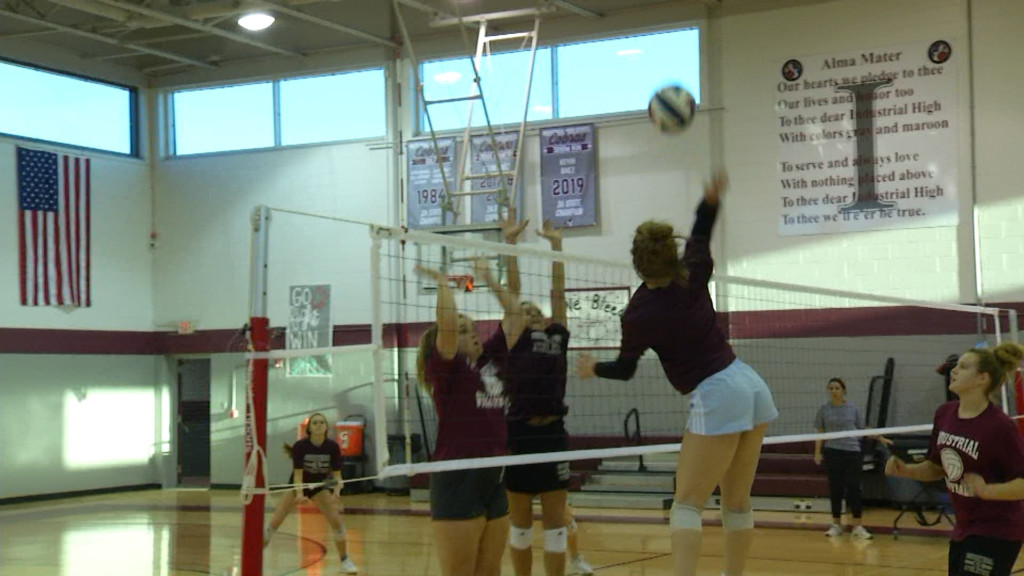 Athletes Of The Week: Industrial Volleyball 11/21
