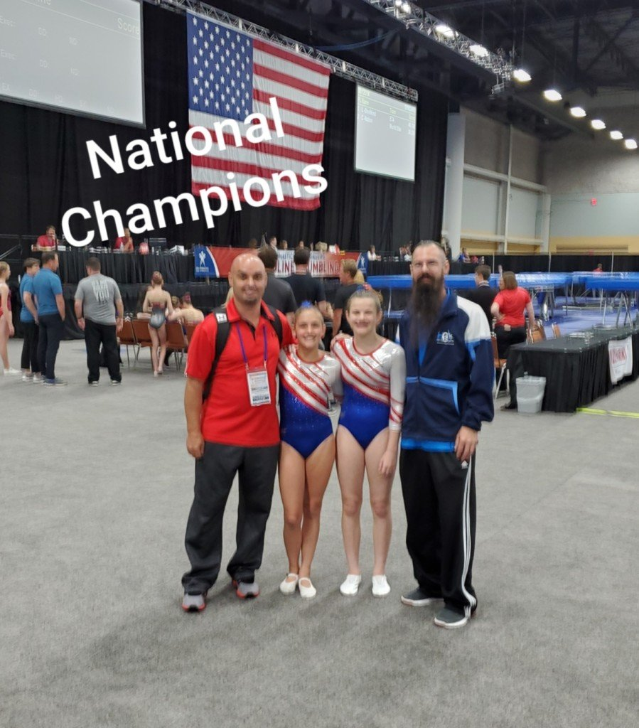 Local Gymnasts Have Big First Day At Nationals Updated 8:22 P.M.