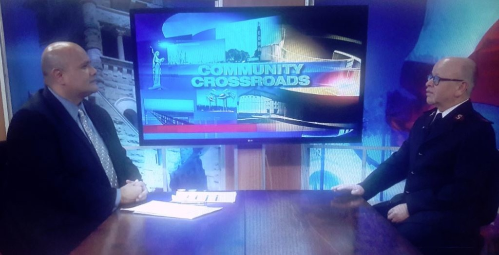 Community Crossroads welcomes Captain Kenny Jones of The Salvation Army