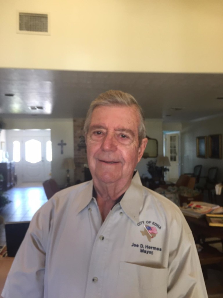 After 40 years, City of Edna Mayor declines re-election