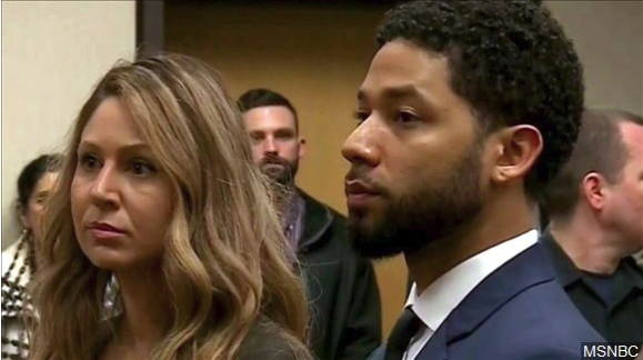 Empire's Jussie Smollett pleas not guilty in court