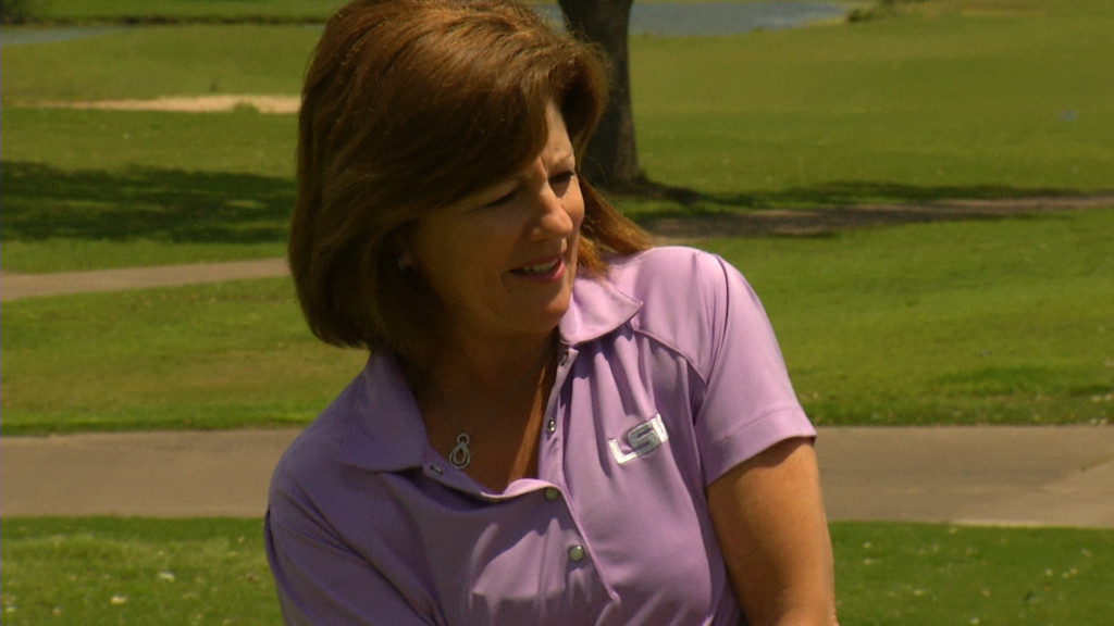Former LSU Golf Coach Conducts Local Clinic