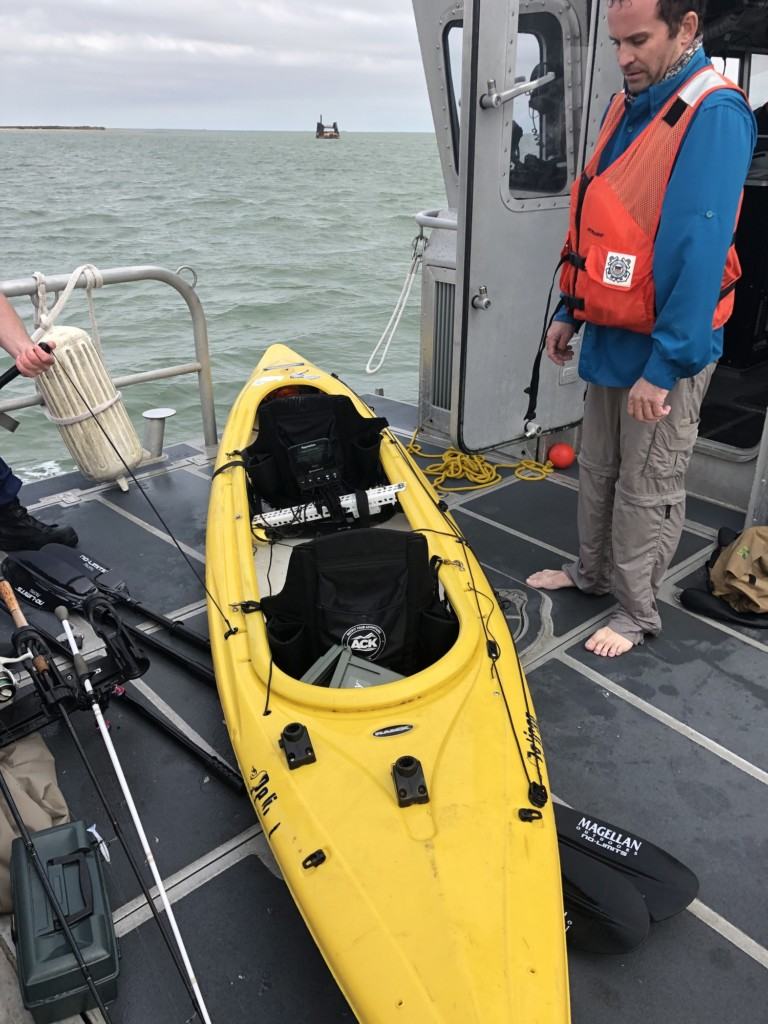 Coast Guard rescues 2 fisherman from capsized kayak near Ingleside, Texas