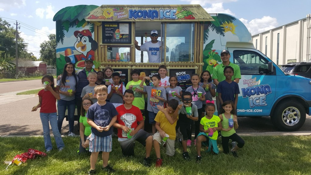Kona Ice gives back to the community