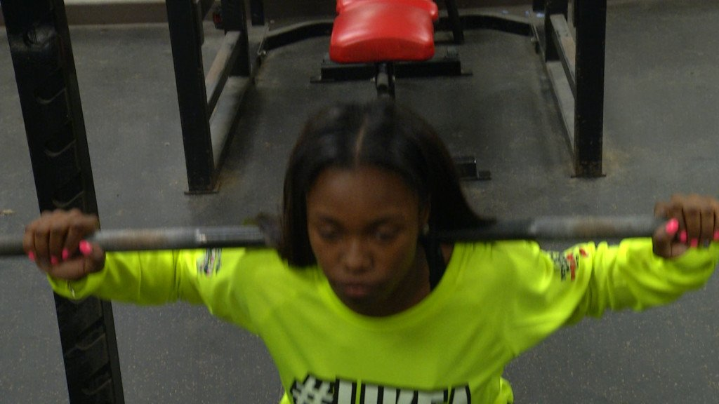 West Girls Powerlifter Heads Back To State