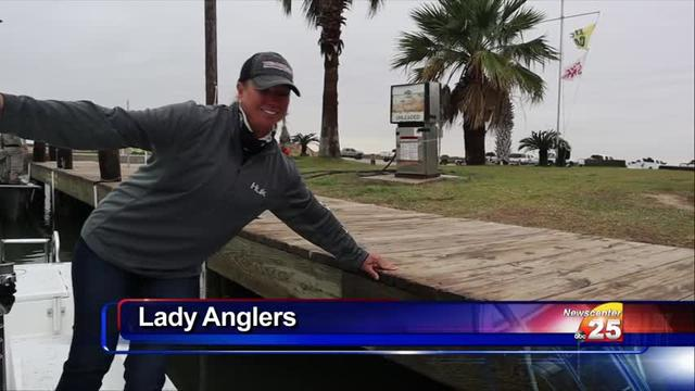 Lady anglers on the rise in Calhoun County
