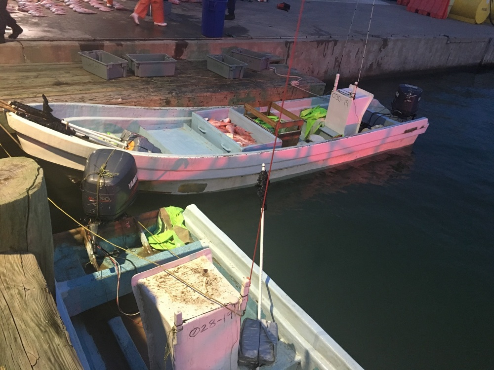 Coast Guard stops three lancha crews illegally fishing in US waters