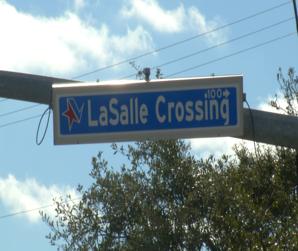 LaSalle Crossing set for road closure Tuesday