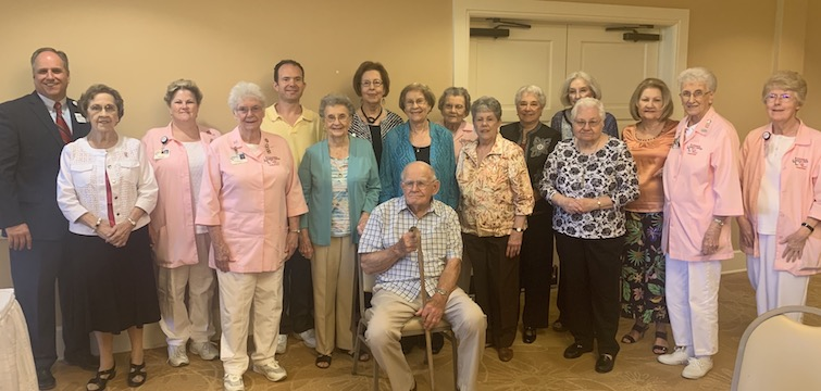 Citizens Medical Center volunteers honored at luncheon