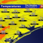 Increasing Clouds and Warm, Turning Windy, Cold and Wet After Midnight