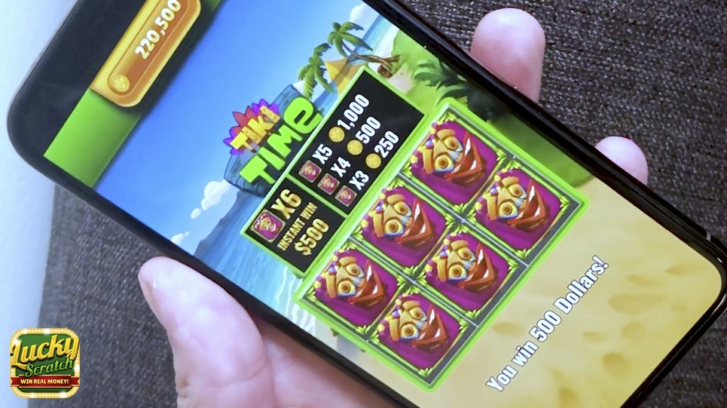 Texans win big with new mobile lottery game app