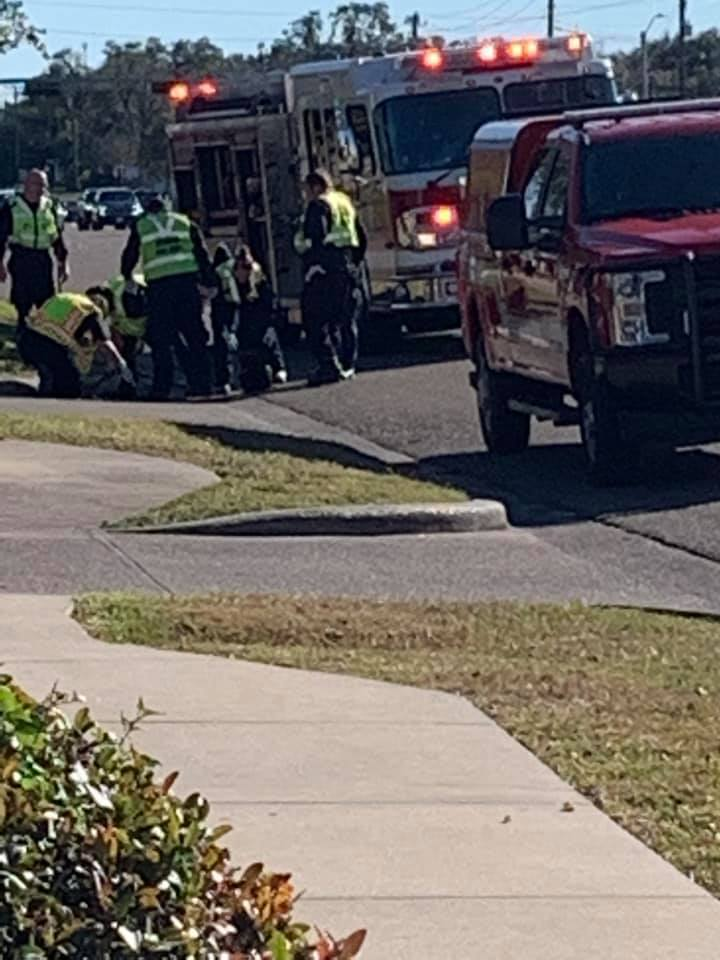 People see fingers coming out of storm drain on Navarro, find man inside