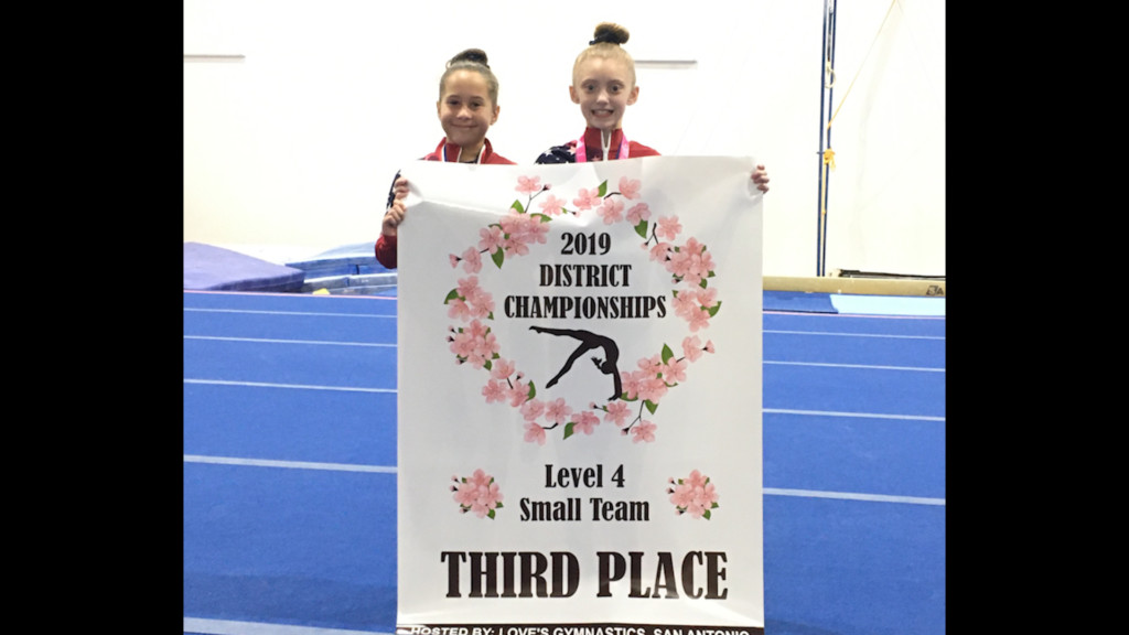 Manning Gymnastics Takes Third Place In S.A.
