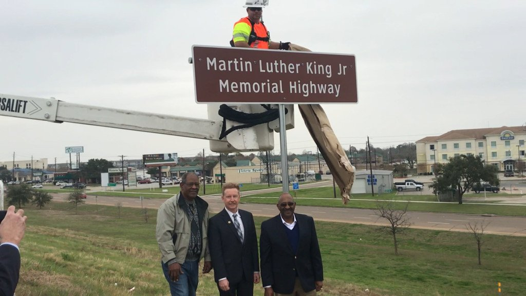 Victoria Names Part of Zac Lentz after Dr. Martin Luther King