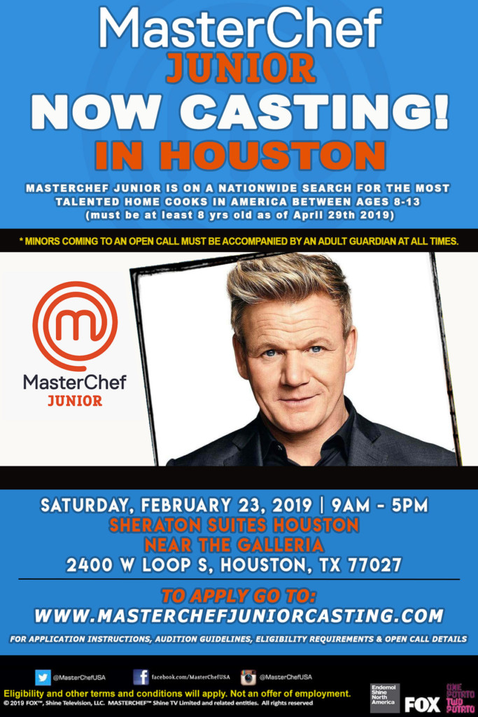 MasterChef Junior casting coming to Houston