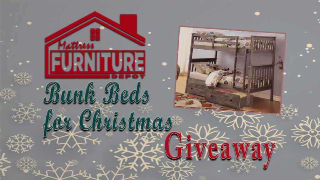 Bunk Beds For Christmas Giveaway
