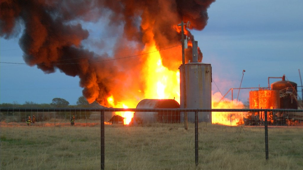 Waste water disposal plant fire put out early Monday morning
