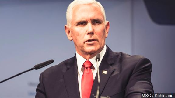 Pence discusses Venezuela on Texas trip, thanks ICE agents