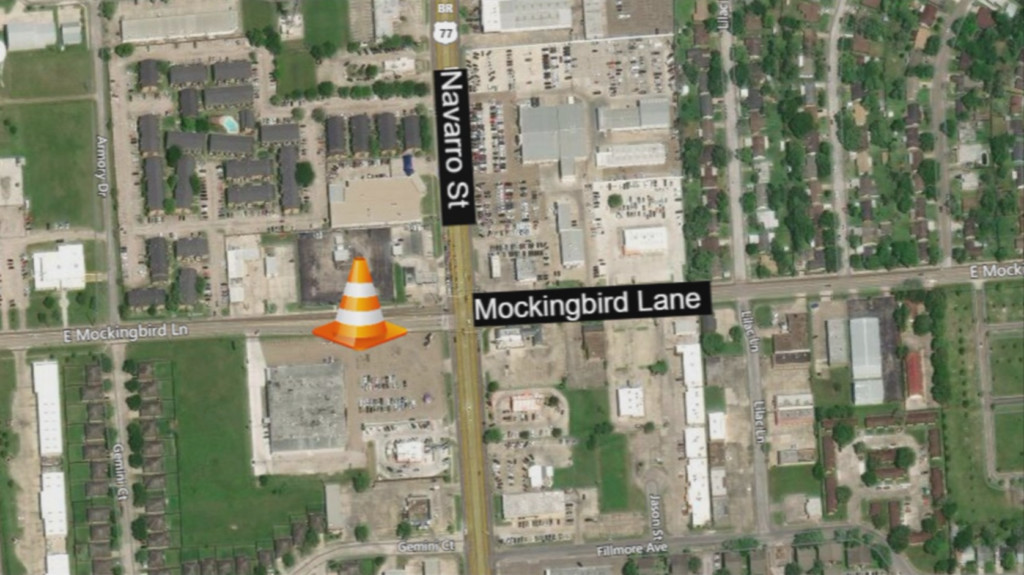 Upcoming traffic changes on Mockingbird and Navarro