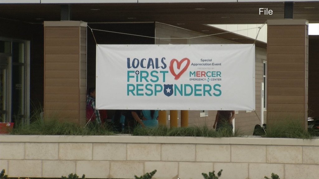 Say 'thank you' to a first responder today