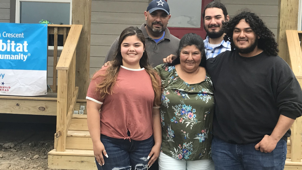 Refugio woman moves from RV to new home from Habitat for Humanity