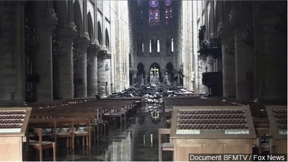 Prosecutors say no sign of criminal act in Notre Dame Cathedral fire