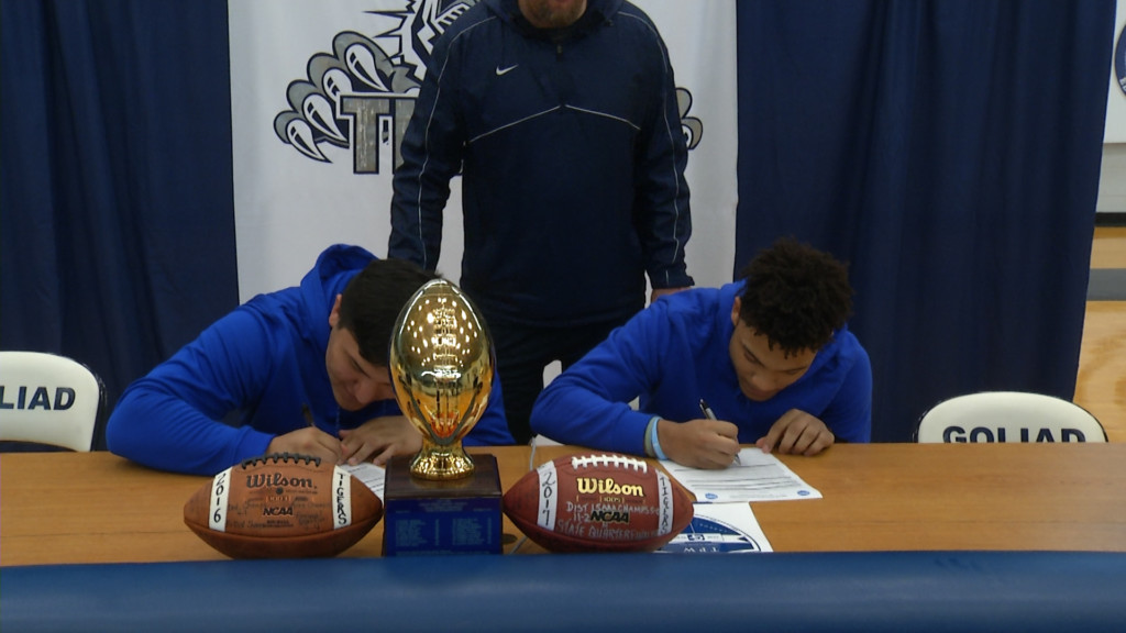 National Signing Day Area Signees 5:29 P.M.