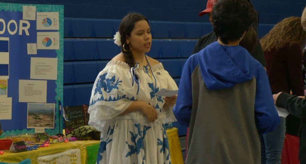 OLV hosts latest cultural event for students; A Passport to the World