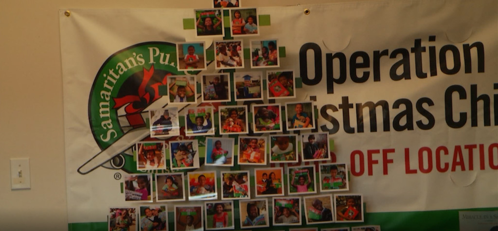 Operation Christmas Child is putitng a smile on children's faces around the world