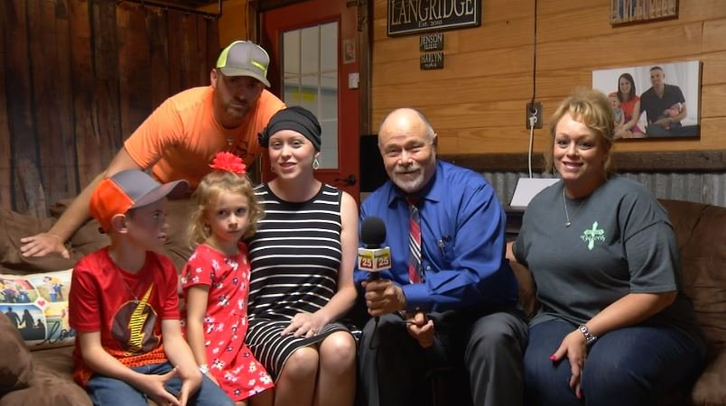 "Cancer patient ""overwhelmed"" to be this month's Pay It Forward recipient"