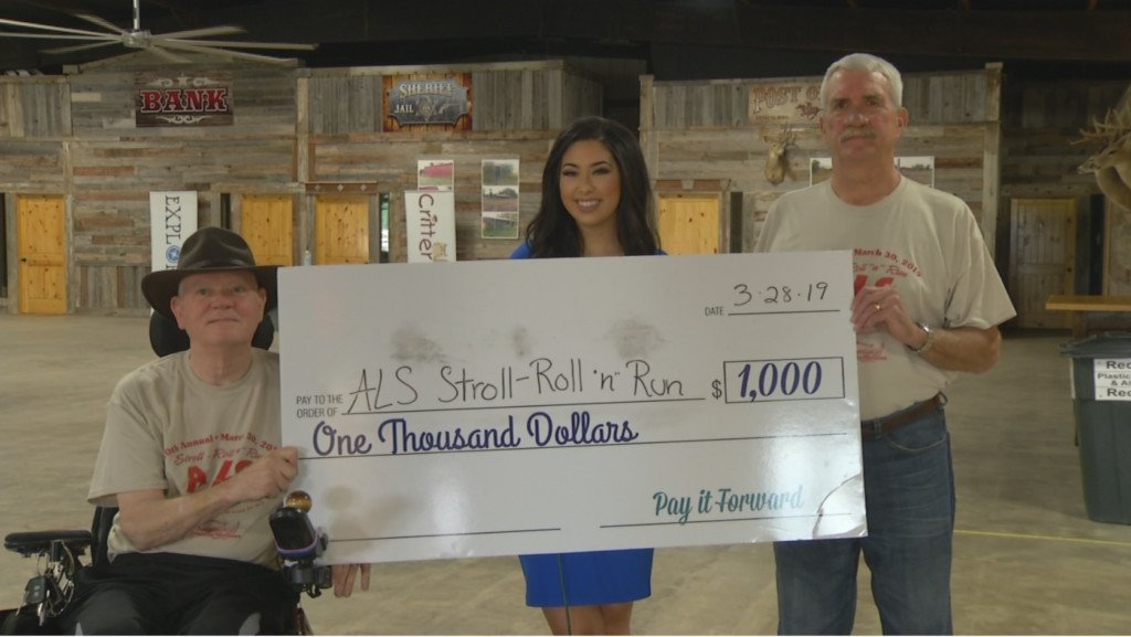 Meet this month's winner of Pay It Forward