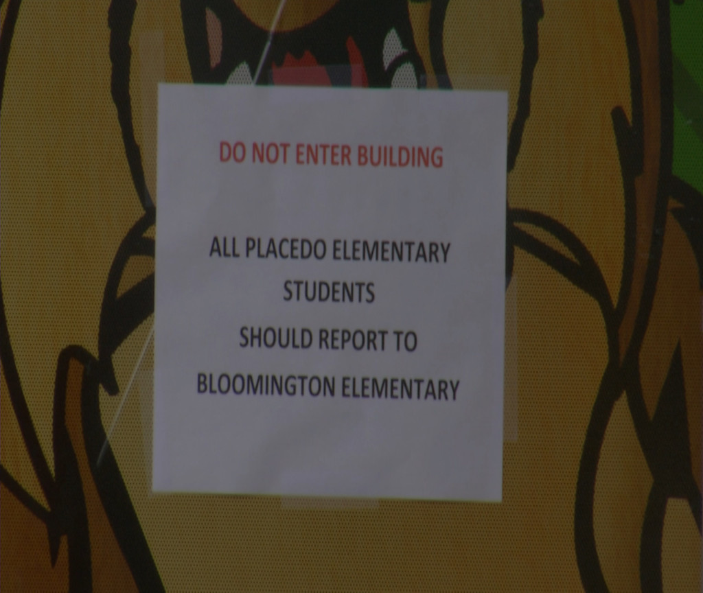 Update: Health Department called to Placedo Elementary