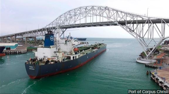 U.S. Army Corps of Engineers awards $92 million contract to the Port of Corpus Christi