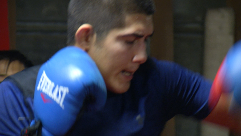 Local Amateur Boxer Tries To Make Mexican Olympic Team 11/14