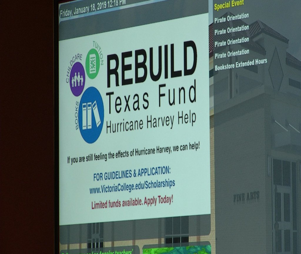 Rebuild Texas Fund provide grant to VC foundation for Harvey-affected students