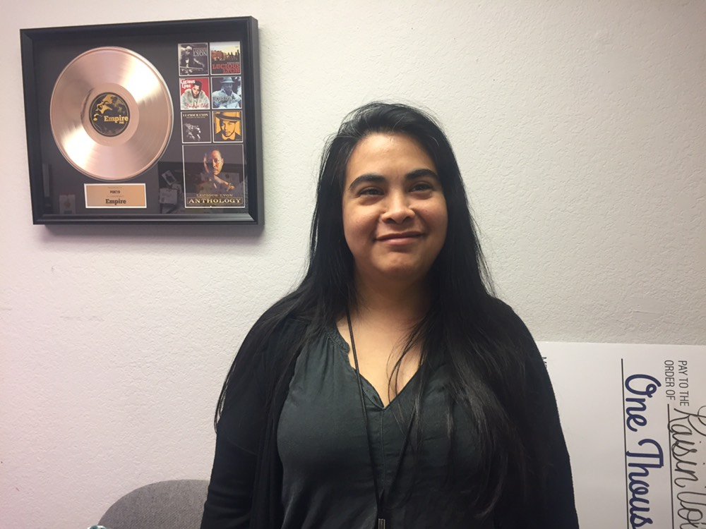 Congratulations to Regina Cantu on a well-deserved promotion