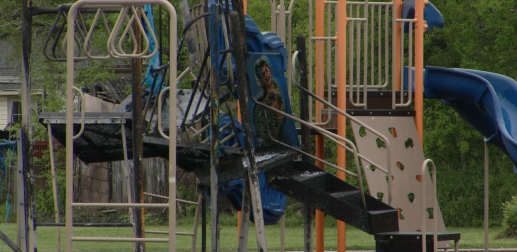 VFD investigating mysterious playground fire
