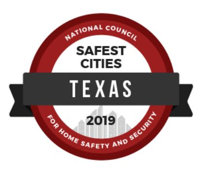 NCHSS study reveals safest cities in the Texas