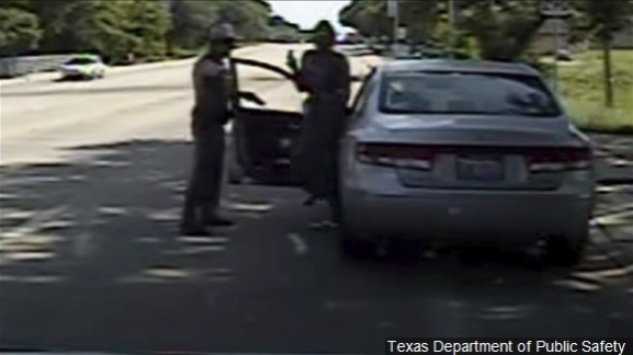 Tensions flare over Sandra Bland cellphone video