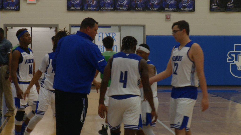 STJ Boys Move Up In State Hoops Poll