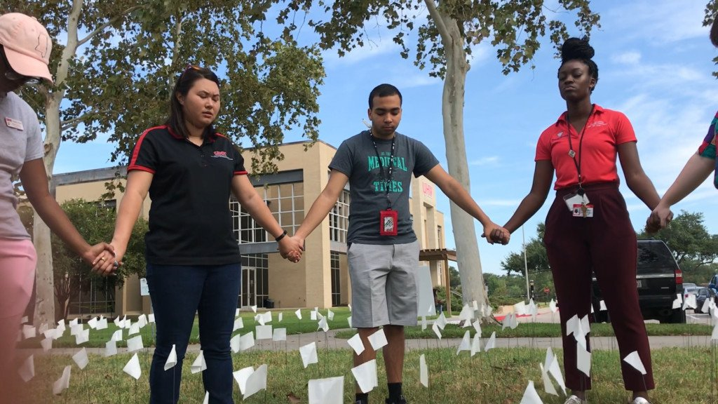 UHV holds event to spread awareness about suicide prevention