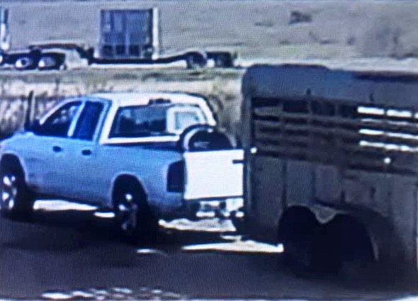 UPDATED: Trailer theft suspect wanted by Victoria Police Department