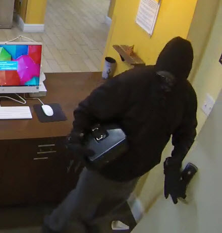 Victoria Crime Stoppers search for hotel robbery suspect