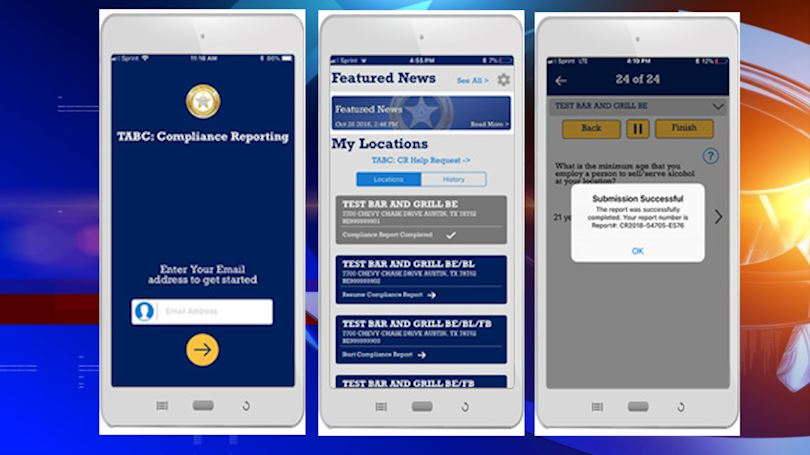 TABC launches new smartphone/tablet app designed to save time for licensed businesses
